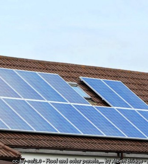 Solar Panels And Your New Roof