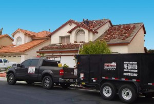 Installing a new red tile roof with heavy-duty underlayerment
